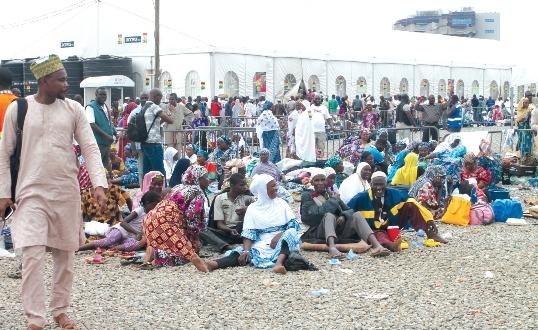 Hajj Pilgrims stranded at Tamale