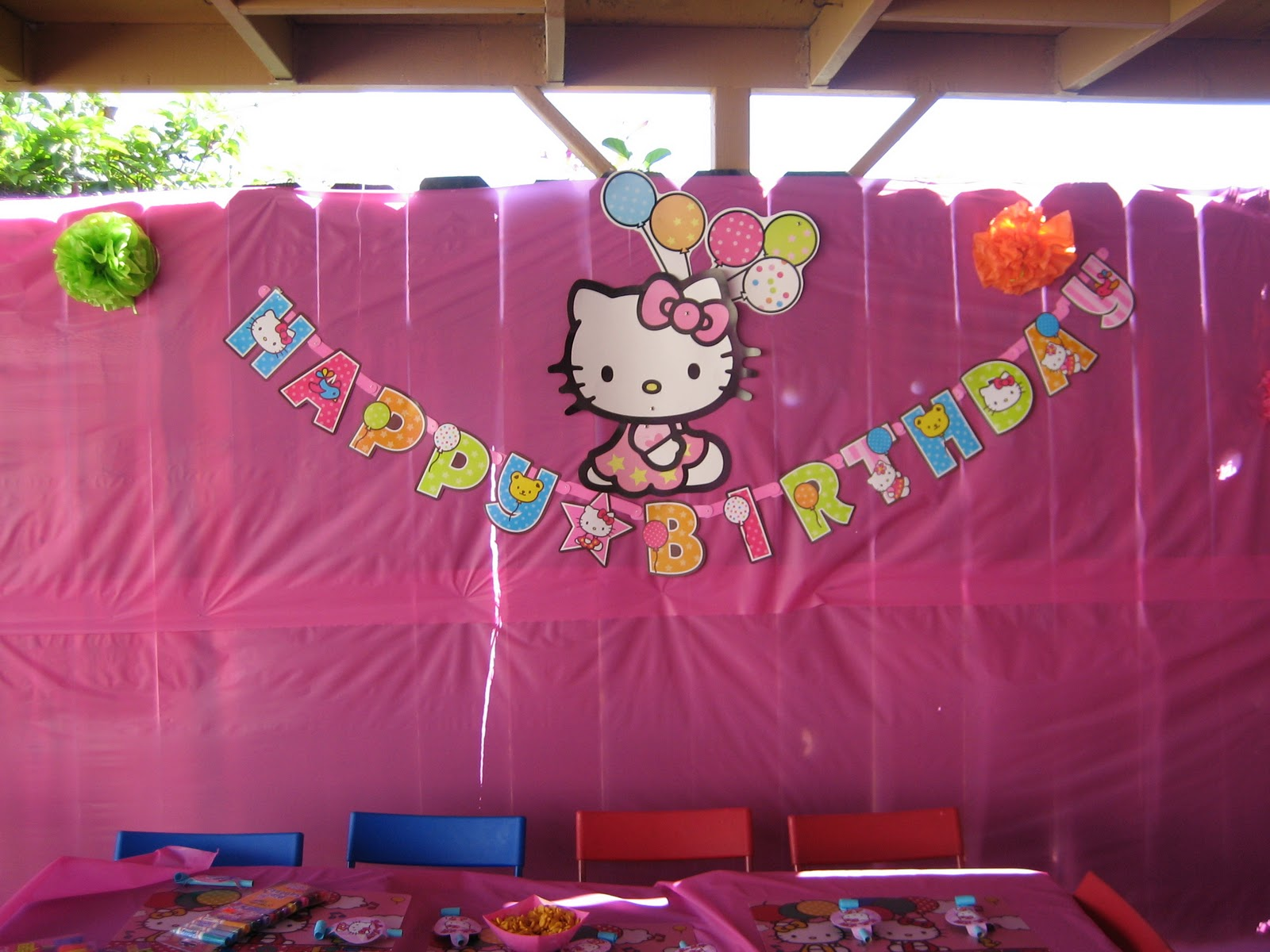 The Sweet Simple Sisters Hello Kitty 7th Birthday Party