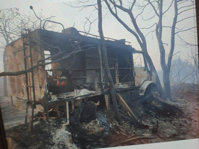Η έκθεση των ζημιών από την πυρκαγιά στην Κορινθία προωθήθηκε στα αρμόδια υπουργεία