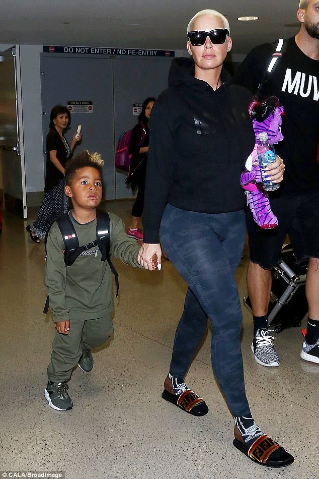 Checkout Amber Rose and her son Sebastian in these photos