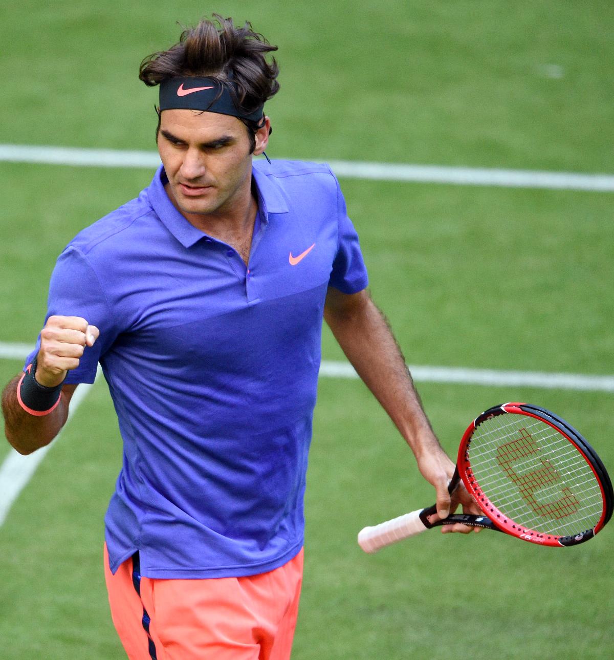 Roger Federer: RANDOM THOUGHTS OF A LURKER: Roger Federer Survives Scare