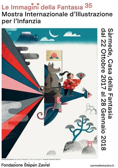 """Mostra Internazionale d'Illustrazione per l'Infanzia """"Le immagini della fantasia"""""""
