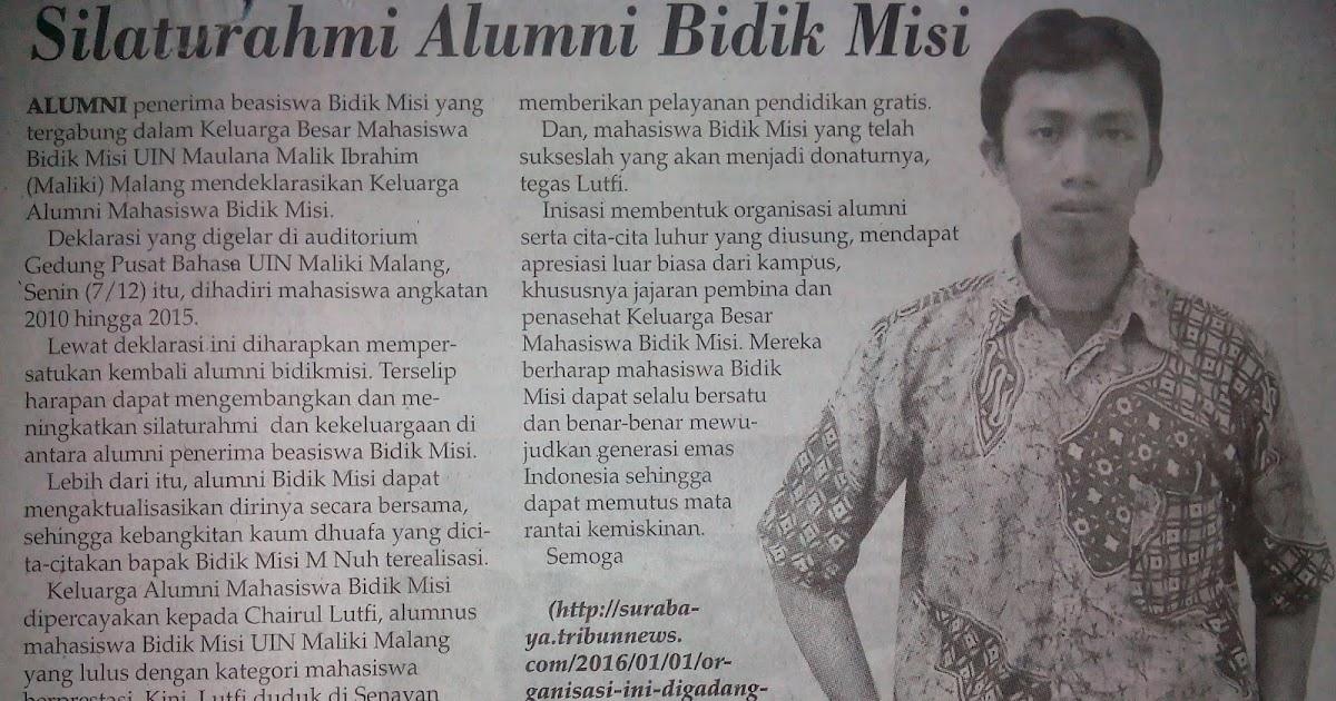 Silaturrahmi Alumni Bidikmisi Mari Berkarya