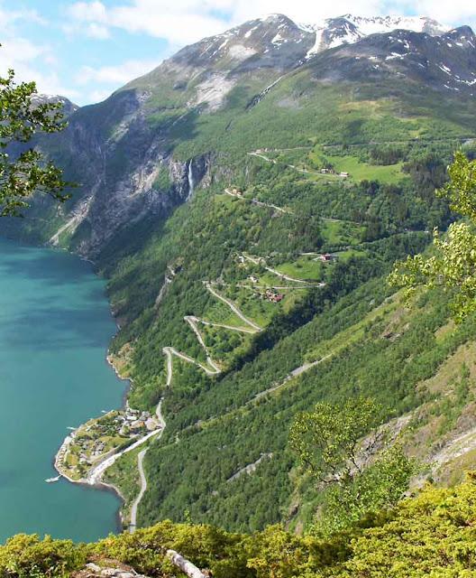 Estrada Geiranger–Dalsnibba - Noruega