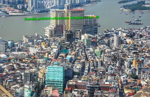 Aerial View, Robuchon au Dôme, Grand Lisboa, Macau