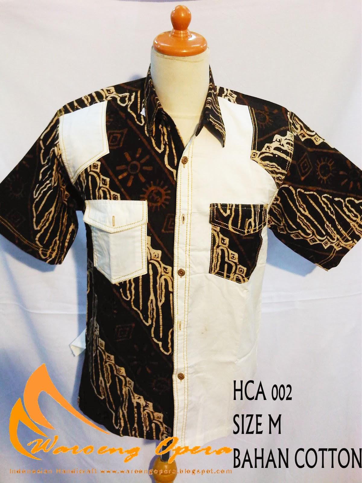 HCA002. HCA005. HCA006. HCA007. HCA008. HCA009. HCA010. HCA011. HCA012.  Batik Cap modern model kerah ... 77c70bef51