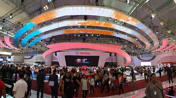 Favorite Booth GIIAS 2016