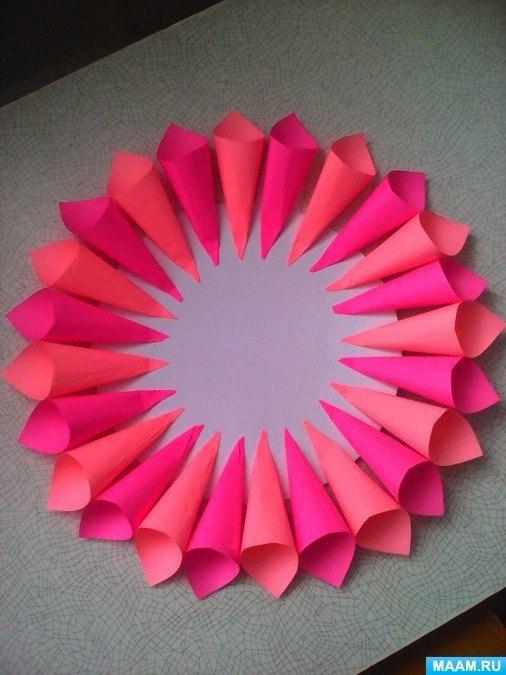 7 moldes y tutorial para hacer lindos adornos de papel - Hacer conos papel ...