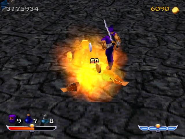 Ninja - Shadow of Darkness - PSX - Captura 2