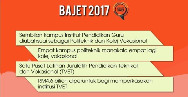 Bajet 2017 IPG