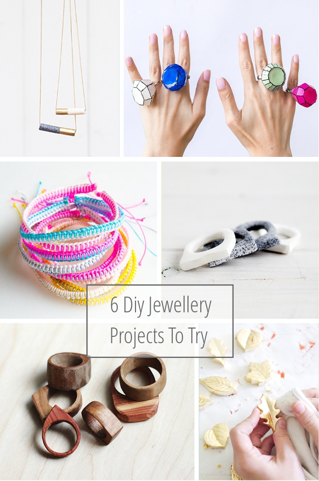 6 Diy Jewellery Projects To Try.