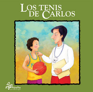 Imagen del Libro de cuentos Los Tenis de Carlos