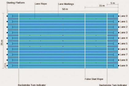 Ukuran Kolam Renang Standar Nasional Internasional