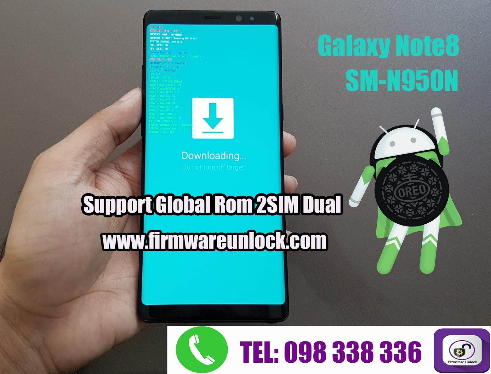 Note8 N950N Fix Rom Convert To N950F U3 V8 0 | Cambodia Unlocker
