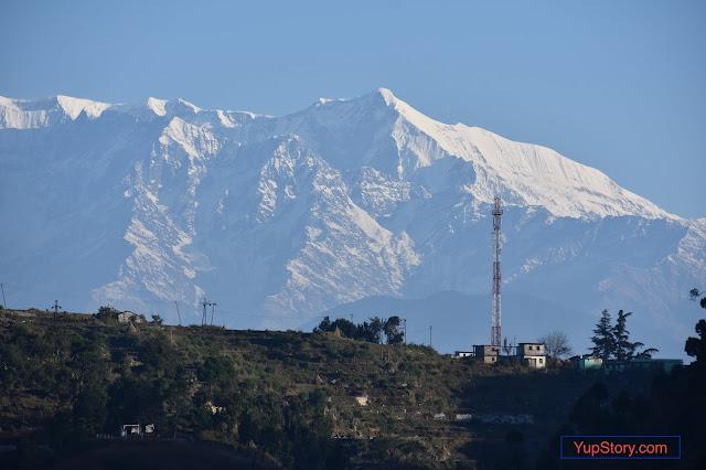 Himalaya View, nanda devi parvat, trisool parvat, trisul parvat, tirsool parvat, palari bageshwar, paladi china, palari cheena,