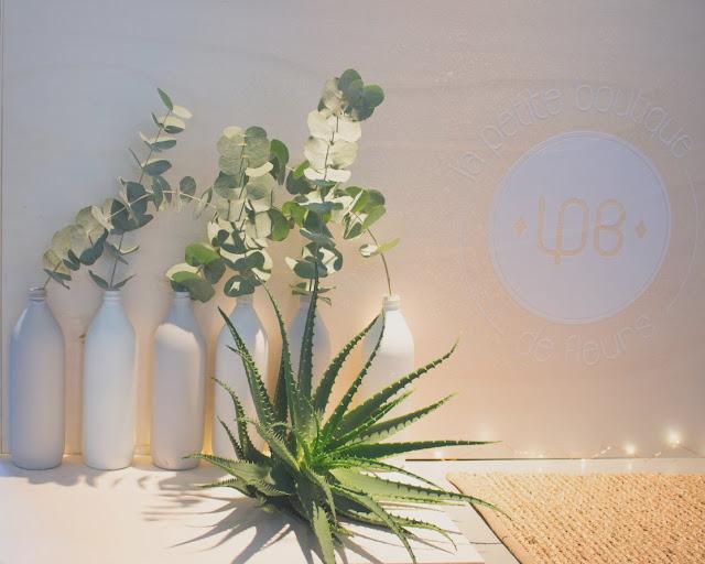 Fleuriste mariage Lyon, eucalyptus aloe vera