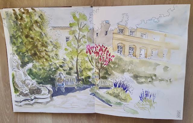 jardin bas caumont art center quatrinaime