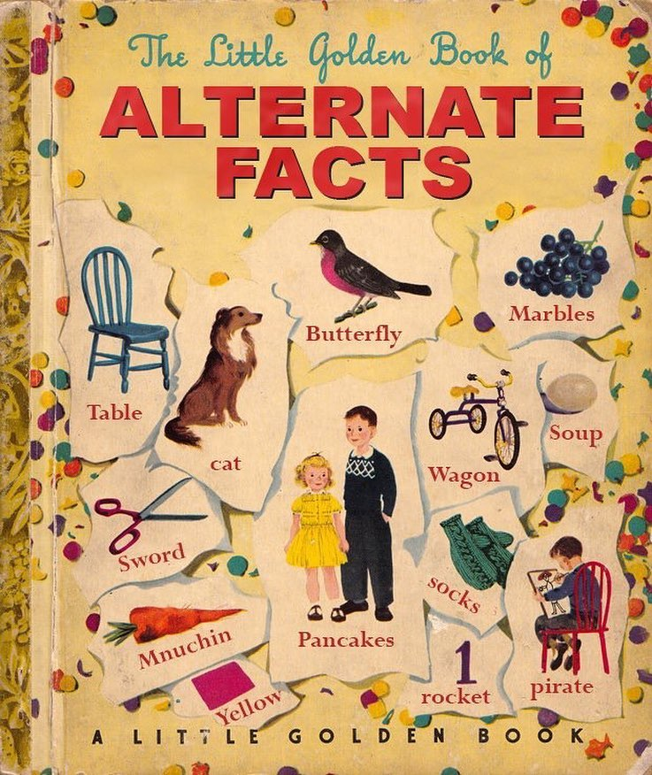 The Little Golden Book of Alternate Facts