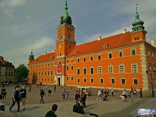 Pologne : Varsovie : Le Château Royal de Varsovie