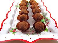 Trufas de Mascarpone, chocolate blanco y neulas