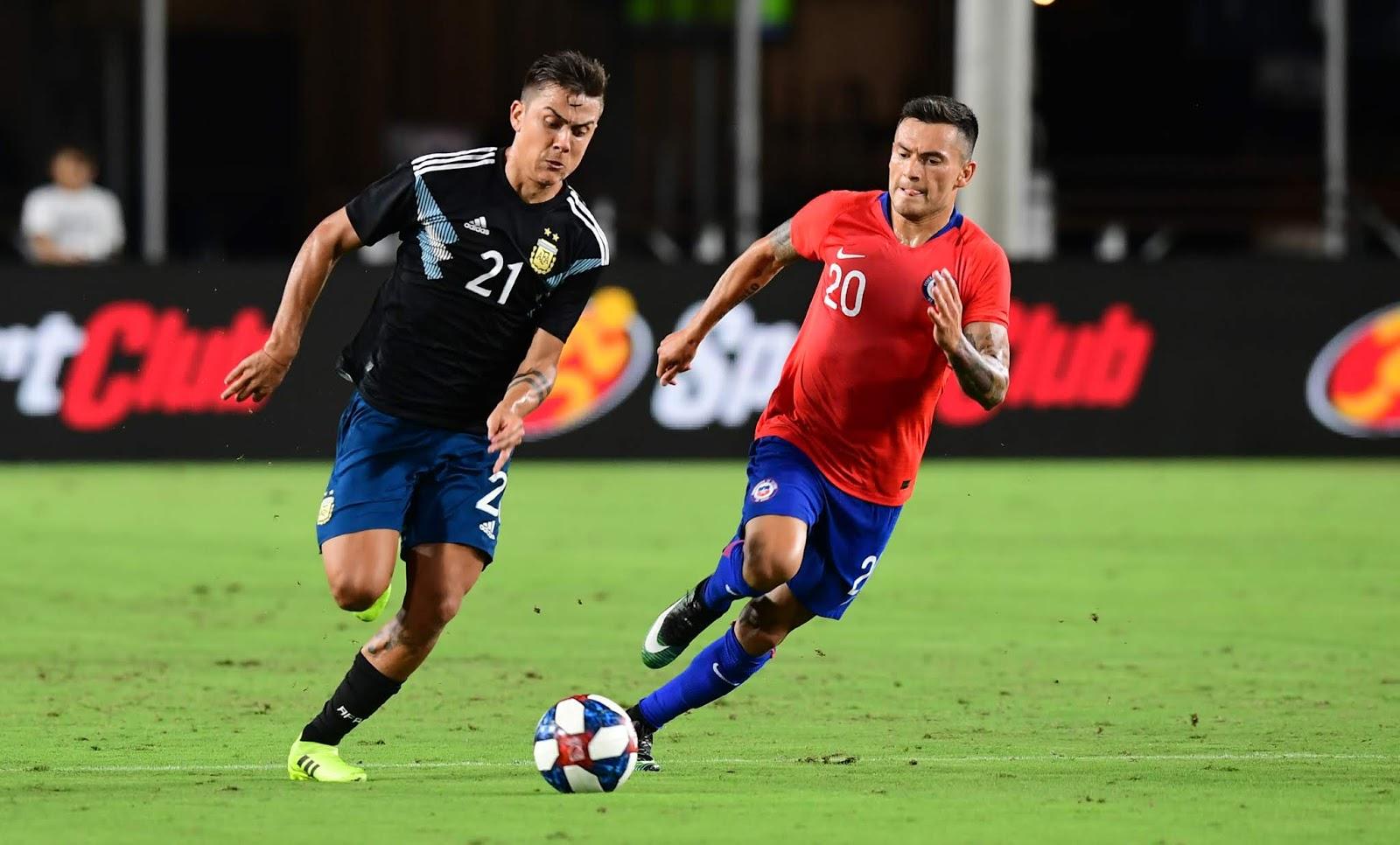 Chile y Argentina en partido amistoso, 5 de septiembre de 2019