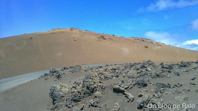 Valle del silencio en el Timanfaya