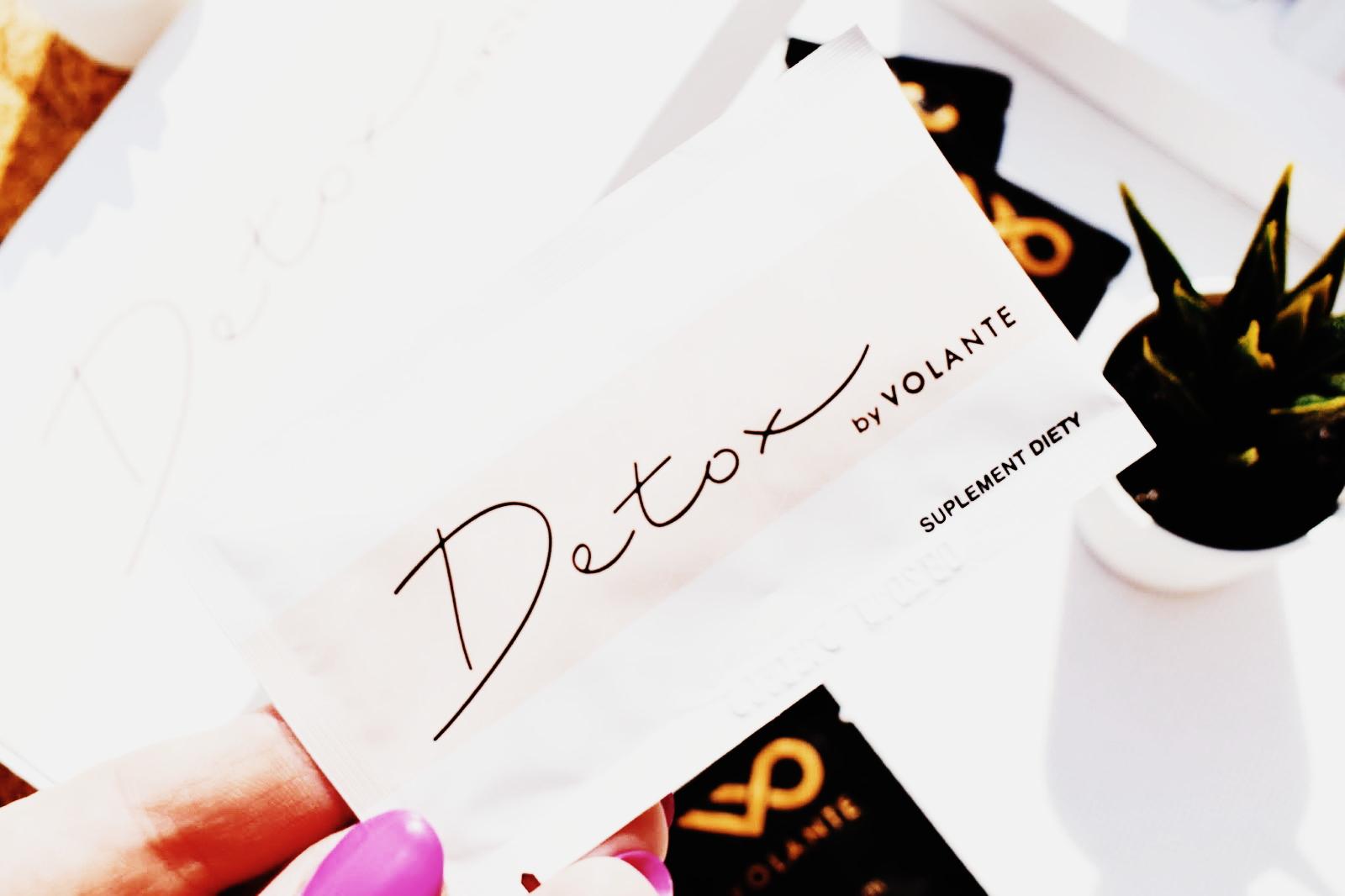 Oczyszczenie organizmu z Detox by Volante