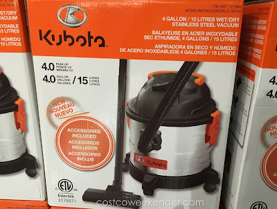 Kuboto Wet/Dry Vacuum – Convenience and cleanliness in one compact package