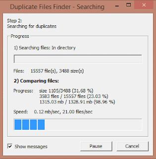 eliminar archivos duplicados en la pc