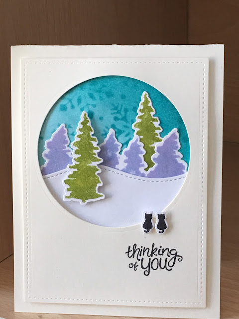 Thinking of You by Sue features Whispering Pines by Newton's Nook Designs; #newtonsnook