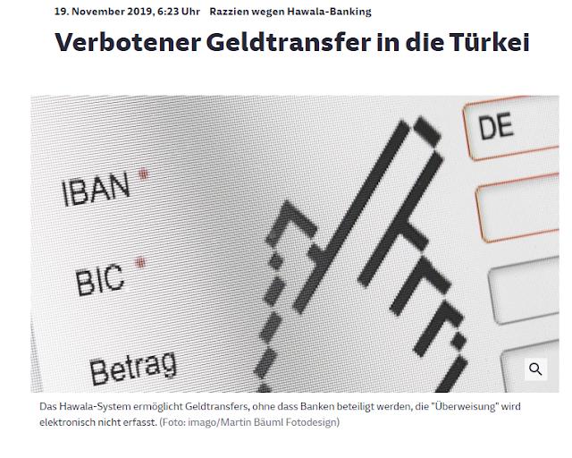 Παράνομη μεταφορά εκατοντάδων εκ. ευρώ στην Τουρκία