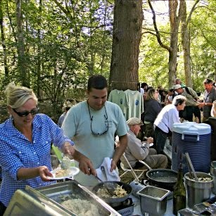 Serving up the Tasty Small Plates at the Wild Mushroom Festival Mystic CT _ New England Fall Events