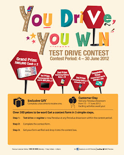 peroduo - CONTEST - [ENDED] PERODUO You Drive, You Win' Test Drive Contest