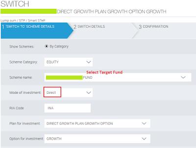 Reliance Mutual Fund - Start STP