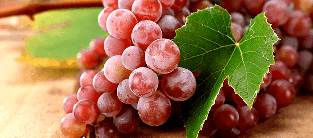 combatir el acné con uvas