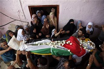 Astagfirullah Kejam nya Tentara Israel Serang Warga Palestina yang Sedang Berkabung