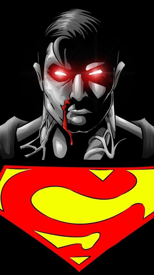 Superman Superhero Black Background Galaxy Note HD Wallpaper
