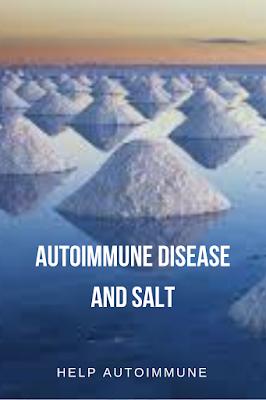 Autoimmune disease and salt