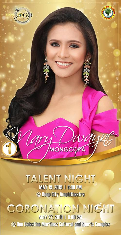 MARY DWAYNE MONGCOPA Candidate #1