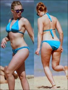 Celulite de Scarlett Johansson! Depois desta revelação milhares de homens por todo o mundo perderam o interesse na atriz