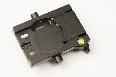 Manfrotto 400 Quick Release mounting platform top view