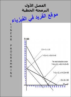شرح البرمجة الخطية pdf، البرمجة الخطية وتطبيقاتها، مسائل ملحولة وتمارين أمثلة مع الحل على البرمجة الخطية، تعريف البرمجة الخطية