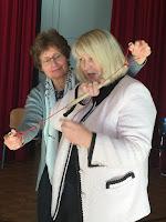 violin bow demonstration