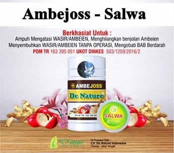 Khasiat Ambeclear dan Salep Salwa de Nature | Jual Herbal Asli