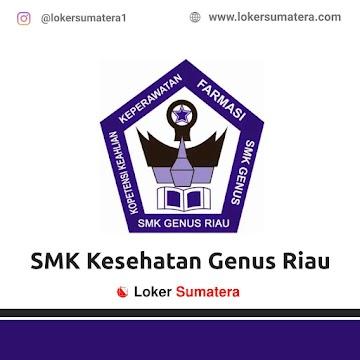 Lowongan Kerja Pekanbaru: SMK Kesehatan Genus Riau Juni 2021