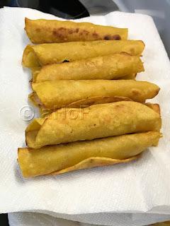 Flautas just fried