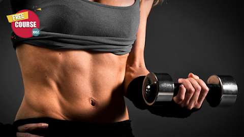 The Secret to Six Pack Abs: Get Shredded Abs in 60 min/week 100% Free Online Courses