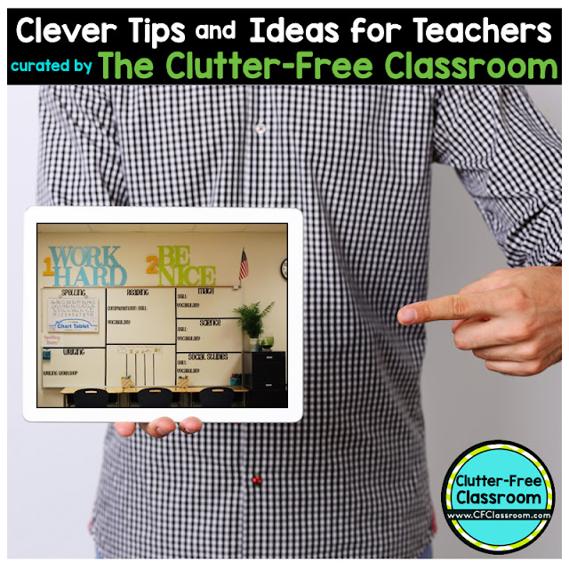 Classroom management is the key to student success. This blog post from the Clutter-Free Classroom shows teachers an easy way to help students understand the daily expectations which will greatly improve student learning and independence.