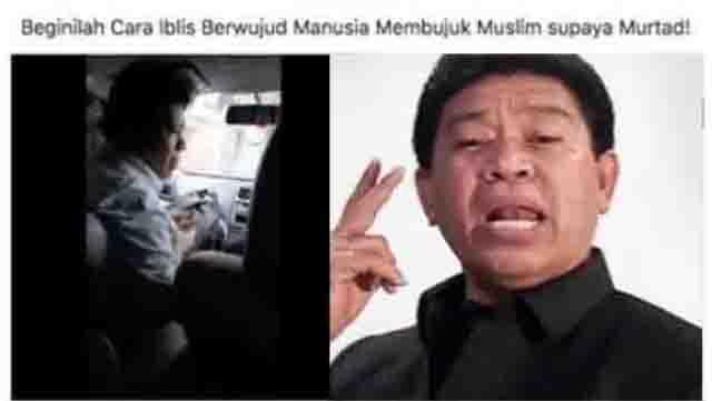 Pendeta Licik Sang Penghina Islam Saifuddin Ibrahim Akhirnya Diringkus