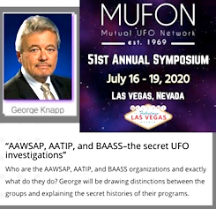 George Knapp To Speak at the MUFON Symposium 2020